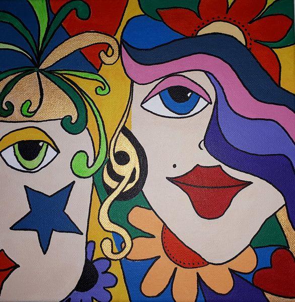 In Love van Anja  Bulté