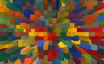 Blokken -IV van Marion Tenbergen