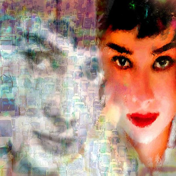 Audrey Freeway 2 Audrey Hepburn   Audrey Hepburn Pop  von Leah Devora