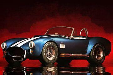 Klassieke auto – Oldtimer Ford Cobra klassieke sportwagen