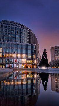 Berlijn Kudamm van Iman Azizi