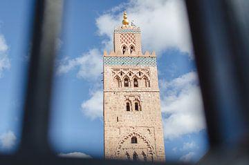 Koutoubia Moschee Marrakech von Vera van den Bemt