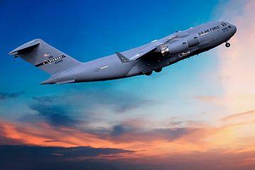Boeing C-17 Globemaster III van