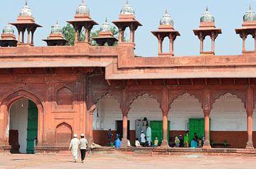 Ombres pastel dans les rues d'Agra sur Zoe Vondenhoff