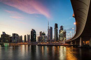 Dubai Business Bay Bridge von Stefan Schäfer