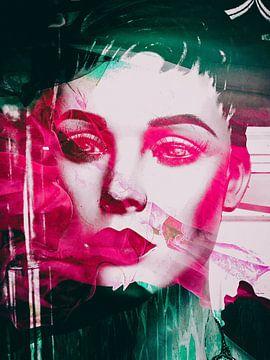 Pink lips von Gabi Hampe
