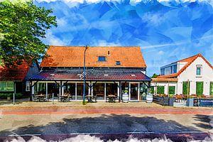 Restaurant Zeebinkie à Burgh-Haamstede (art)