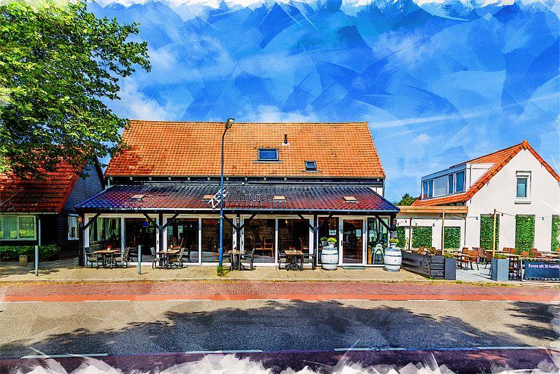 Restaurant Zeebinkie à Burgh-Haamstede (art) sur Art by Jeronimo