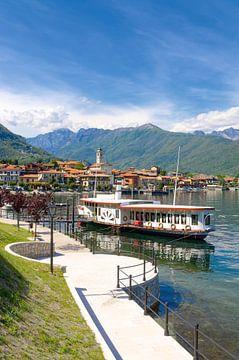 Baveno aan het Lago Maggiore van Peter Eckert