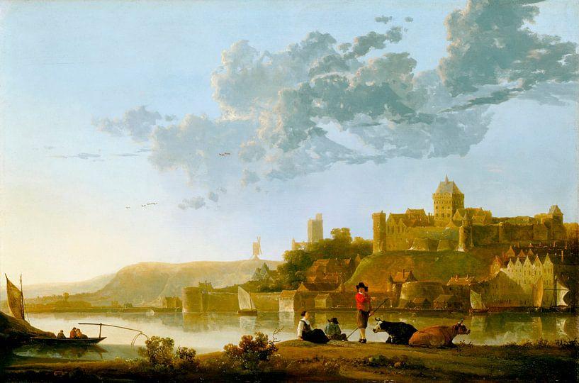 Albert Cuyp. Het Valkenhof in Nijmegen van 1000 Schilderijen