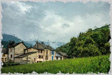 dorp in de bergen van claes touber
