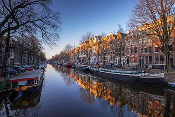 Les canaux d'Amsterdam sur Tristan Lavender