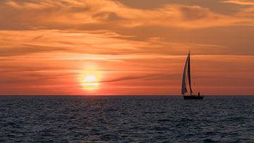 Sonnenaufgangsüberfall auf Chatham von Bob de Bruin