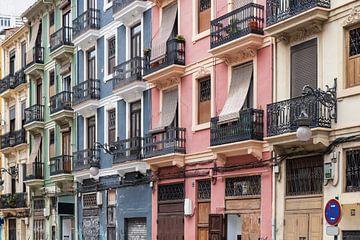 Valencia centrum stad von Elroy Spelbos