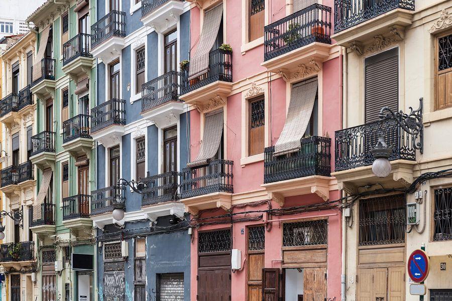 Valencia centrum stad van Elroy Spelbos