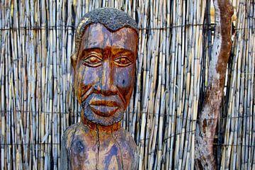 Afrikanisches Gesicht von Inge Hogenbijl