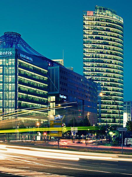 Berlin - Sony-Center at Potsdamer Platz van Alexander Voss