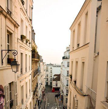 Straat in Parijs van Mark Scholten