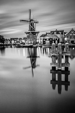Zonsondergang in Haarlem 02 van