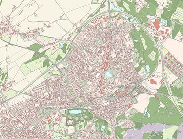 Kaart vanBrunssum