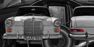 Mercedes-Benz 190/200 (W 110) Staartvin van aRi F. Huber