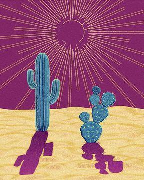 woestijn hitte van Klaudia Kogut