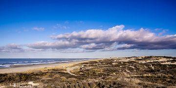 Duinen en Strand van Kijkduin als Panorama van Ricardo Bouman