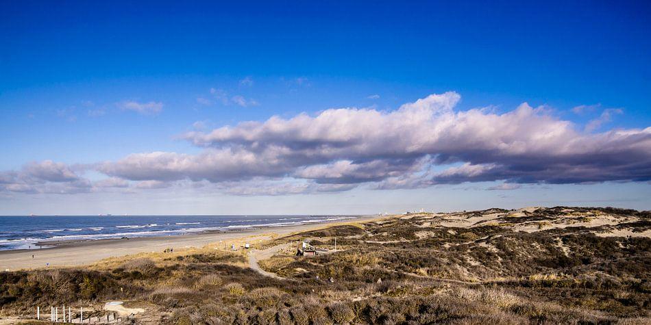 Duinen en Strand van Kijkduin als Panorama van Ricardo Bouman | Fotografie