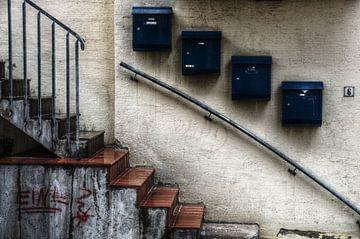 Mailboxes van Mike Bing