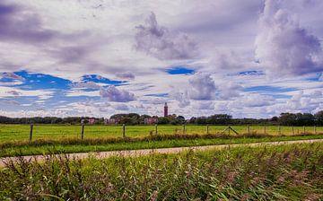 Leuchtturm in Zeeland. von Brian Morgan