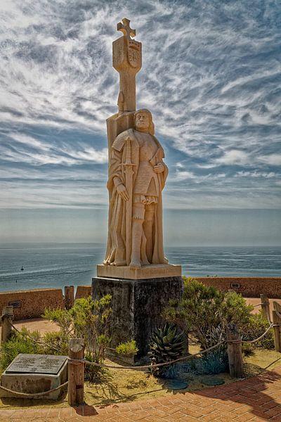 Cabrillo National Monument op Point Loma Peninsula, San Diego, Verenigde Staten van Amerika van Mohamed Abdelrazek