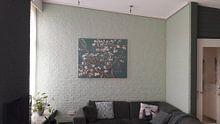 Kundenfoto: Mandelblüte grün - Vincent van Gogh von Meesterlijcke Meesters