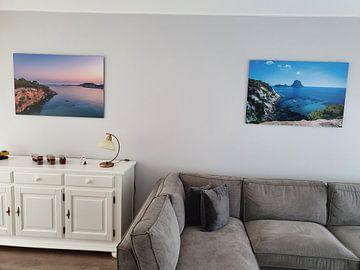 Klantfoto: Portinatx, Ibiza van Arisca van 't Hof