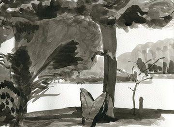 Landschaft 2 von Maartje Kaper