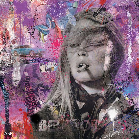 Brigitte Bardot Pop Art