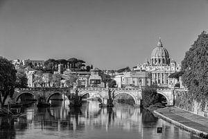 Zicht op het Vaticaan.