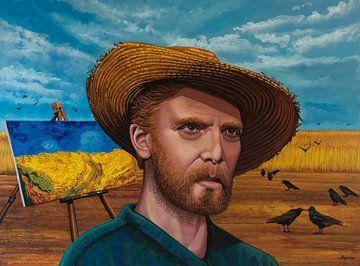 Letzte Momente der Malerei von Vincent van Gogh von Paul Meijering