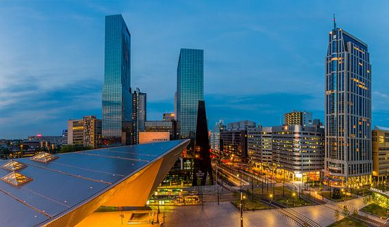 Stationsplein Rotterdam Centraal Station (versie 1) van MS Fotografie | Marc van der Stelt