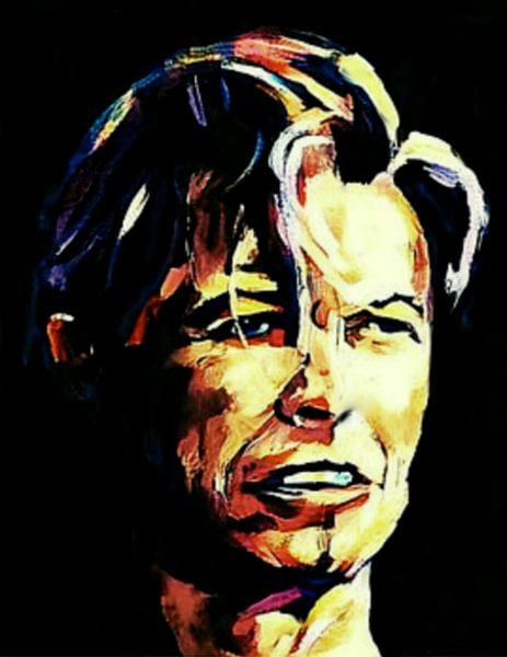 David Bowie Classic Pop Art PUR Serie