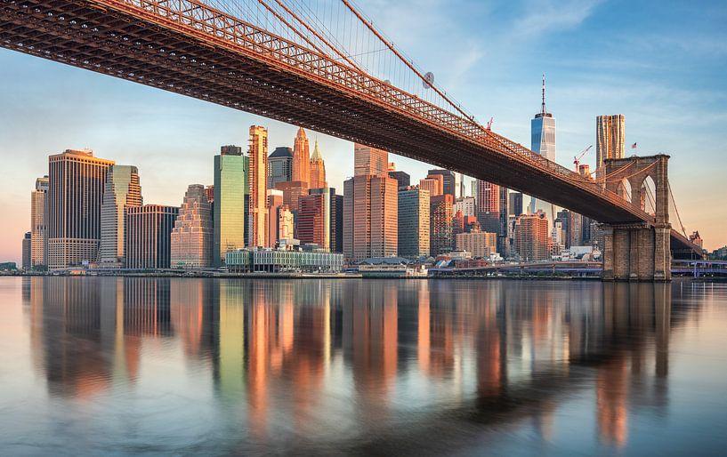 Brooklyn Bridge van Photo Wall Decoration