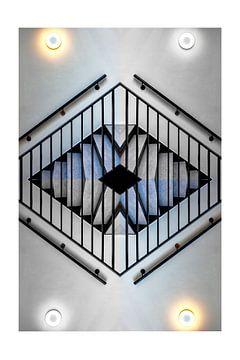 Trap met verlichting van Michel Groen