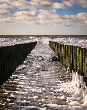 Wind am Meer von Onno Feringa