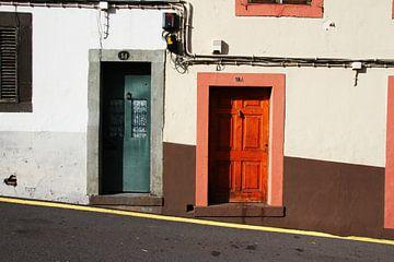 gekleurde deuren, Madeira van Oscuro design