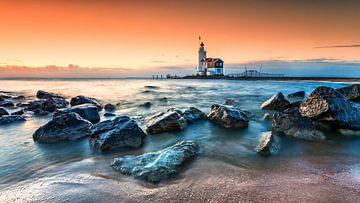 Marken Lighthouse sur Peter Bolman