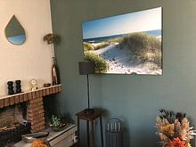 Klantfoto: Sylt - silent spot van Reiner Würz / RWFotoArt, op canvas