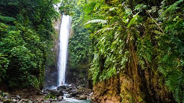 Wasserfall auf den Philippinen (horizontal) von Jessica Lokker