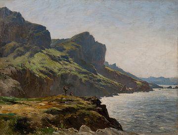 Carlos de Haes-Landschaft am Meer, Antike Landschaft