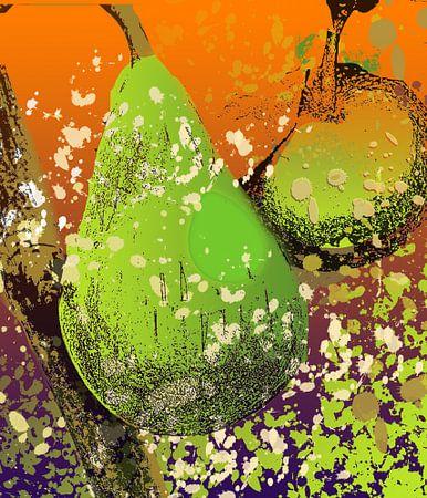 fruit X 3 appel peer food eten