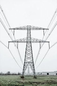 Electricity Pylons von Robert Kersbergen