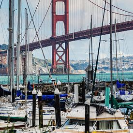 Golden Gate Bridge from Presidio Yacht Club sur Ricardo Bouman